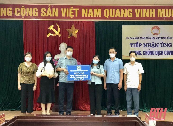 Công ty CP Xuân Thiện Thanh Hóa ủng hộ 6 tỷ đồng phòng, chống dịch COVID-19