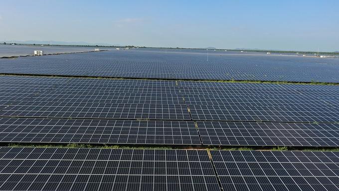 Nhà máy điện mặt trời lớn nhất Đông Nam Á vận hành