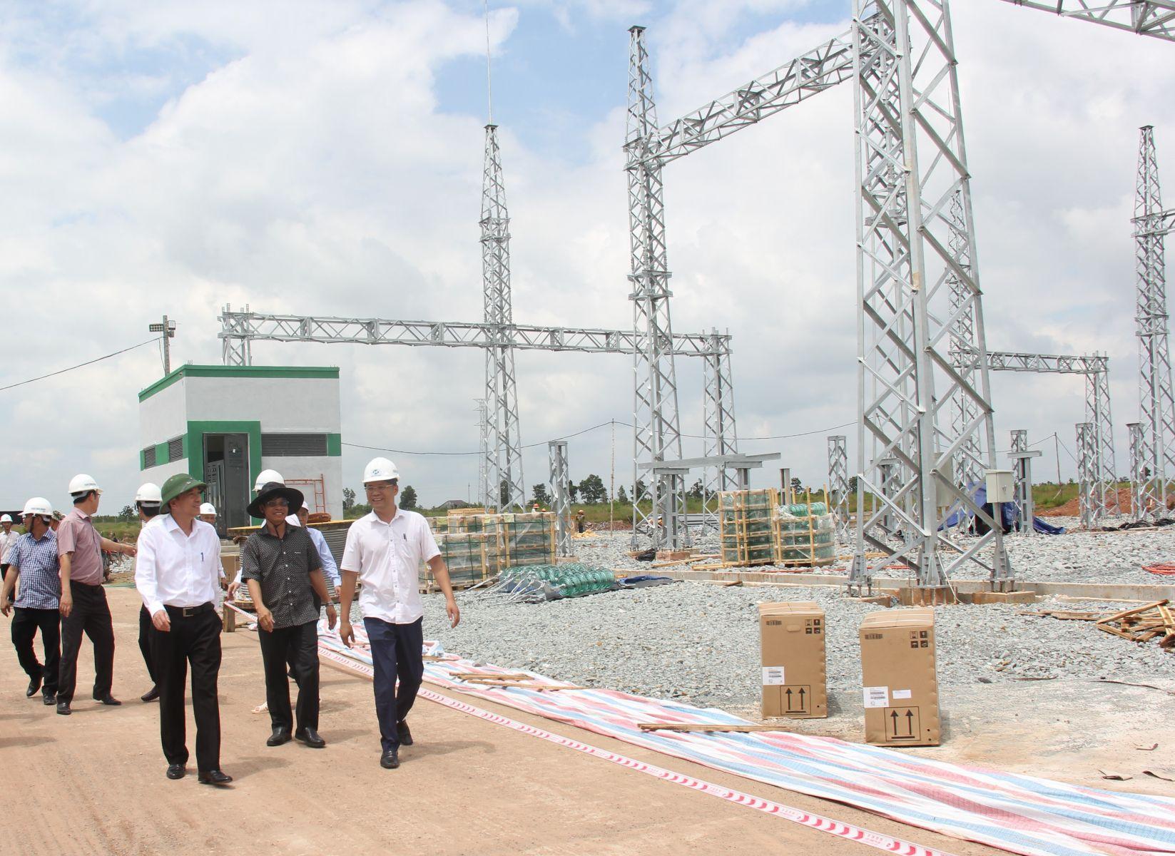 Đấu nối đường dây và trạm biến áp 500 kV Xuân Thiện- Ea Súp