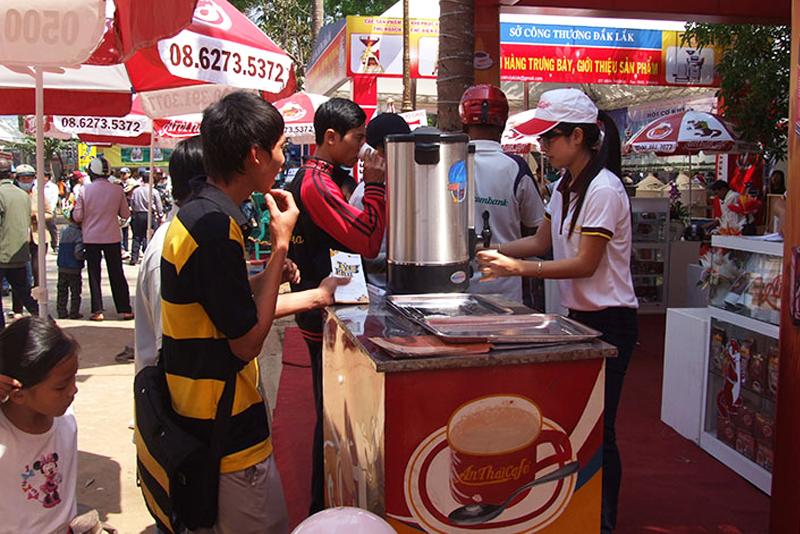 Xuân Thiện - Nhà tài trợ vàng lễ hội cà phê Buôn Ma Thuột