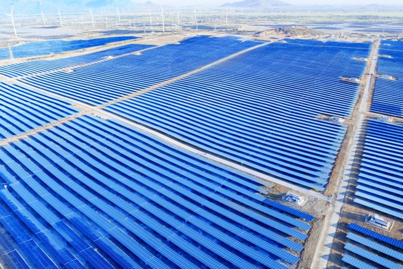 Nhà máy Điện mặt trời Xuân Thiện Thuận Bắc hòa lưới điện quốc gia