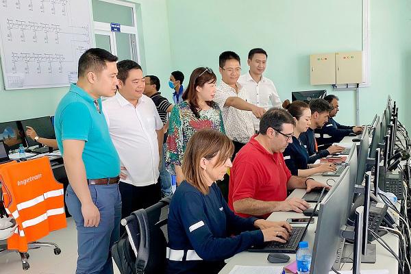 Tập đoàn Xuân Thiện hòa lưới điện Nhà máy Điện mặt trời tại Ninh Thuận